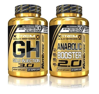 ANABOLIC BOOSTER + G.H GOLD INJECTION